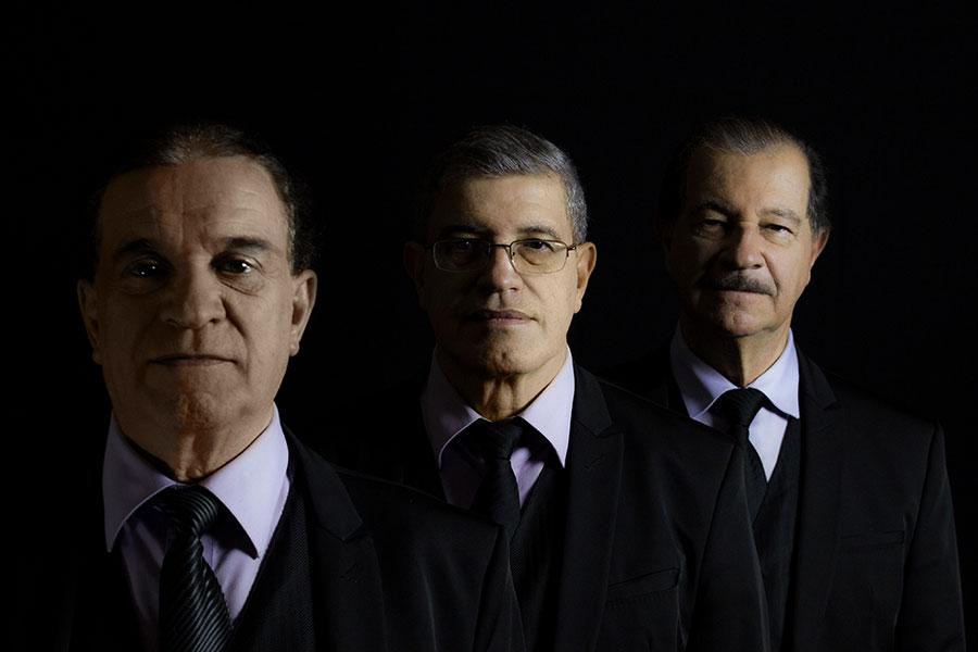 Enrique Guzmán, Carlos Guzmán y Ramiro Guzmán